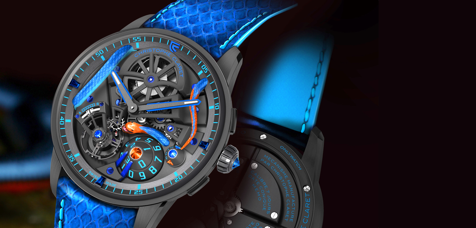 Christophe Claret OW2019 Maestro Corail Cover