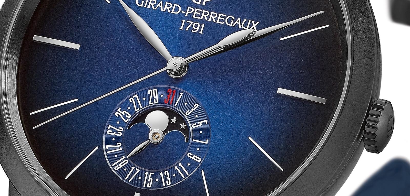 Girard-Perregaux 1966 Blue Moon.