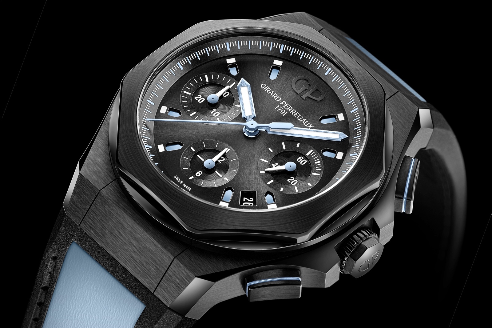 Girard-Perregaux Laureato Absolute Chronograph Only Watch 2019 Detail