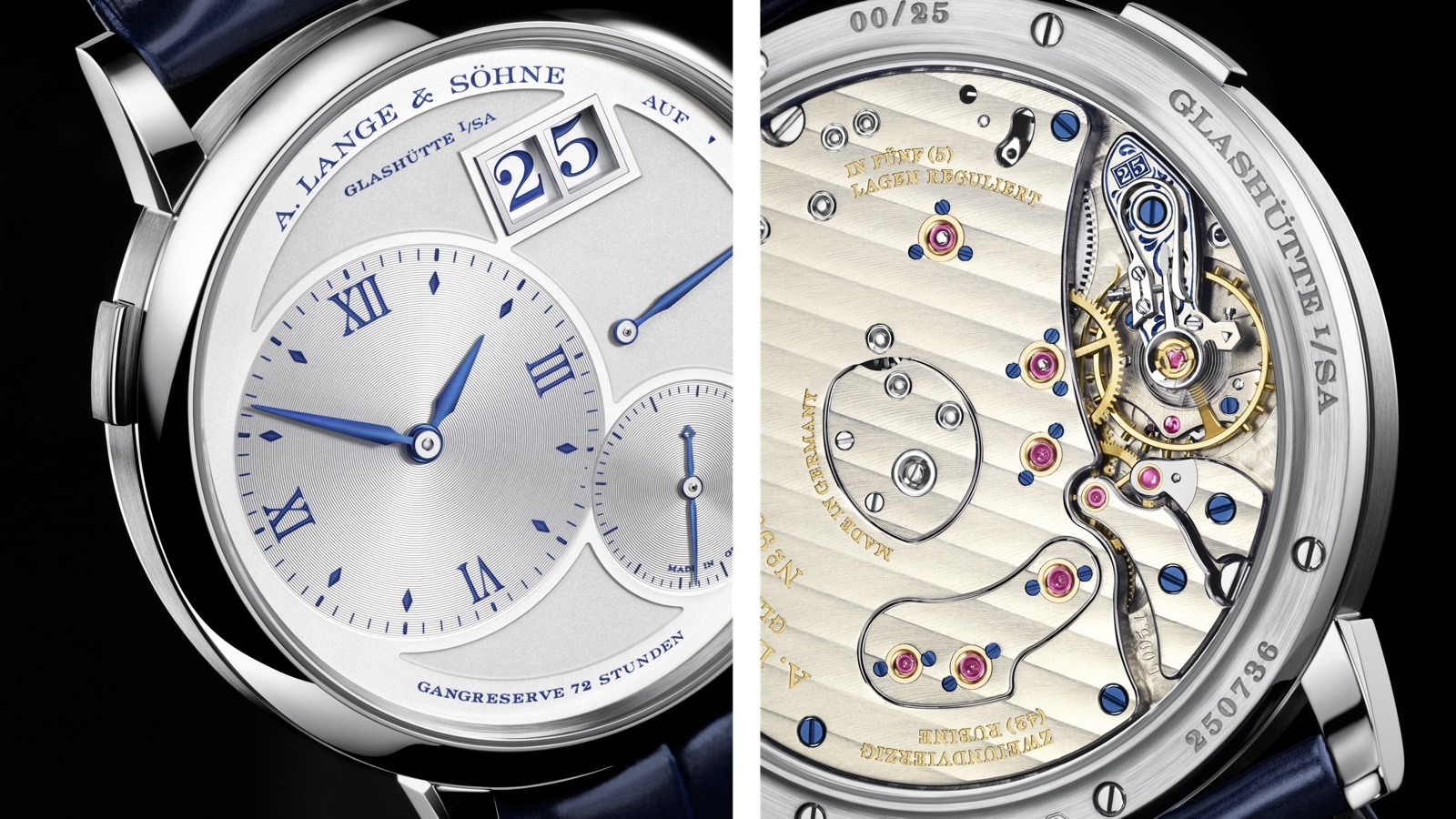 Grand Lange 1 25th Anniversary Detalles