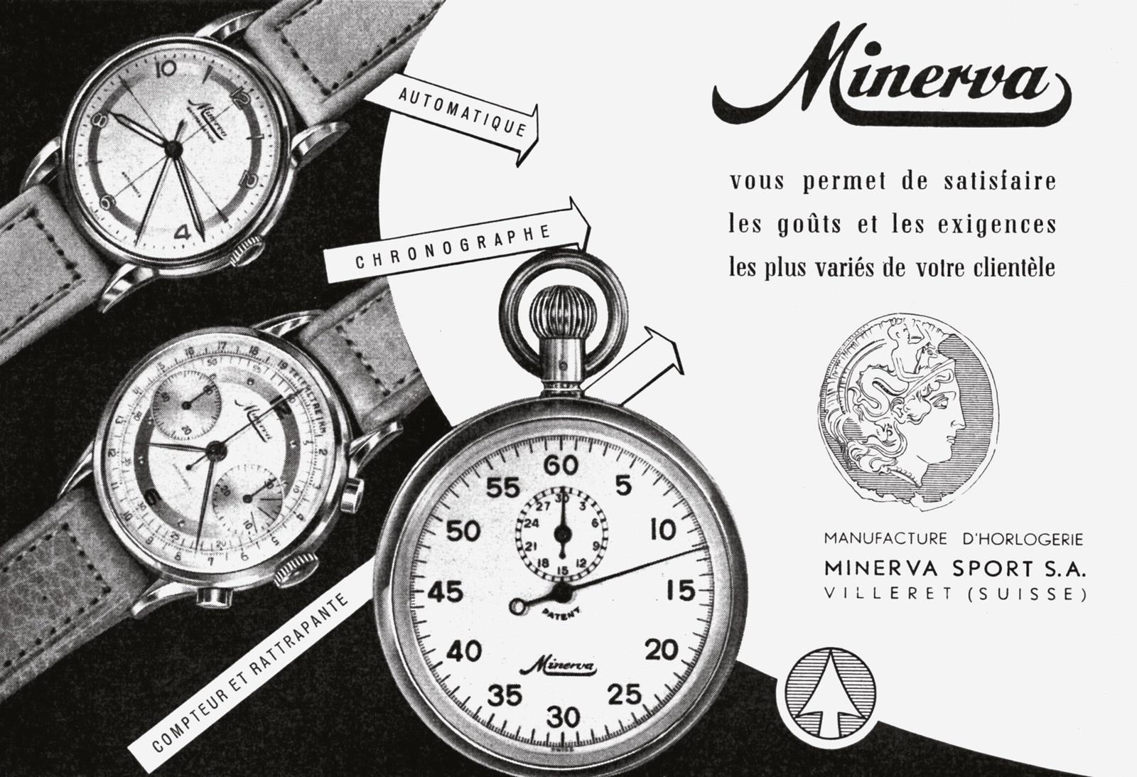 Historia Minerva Advertisement 1