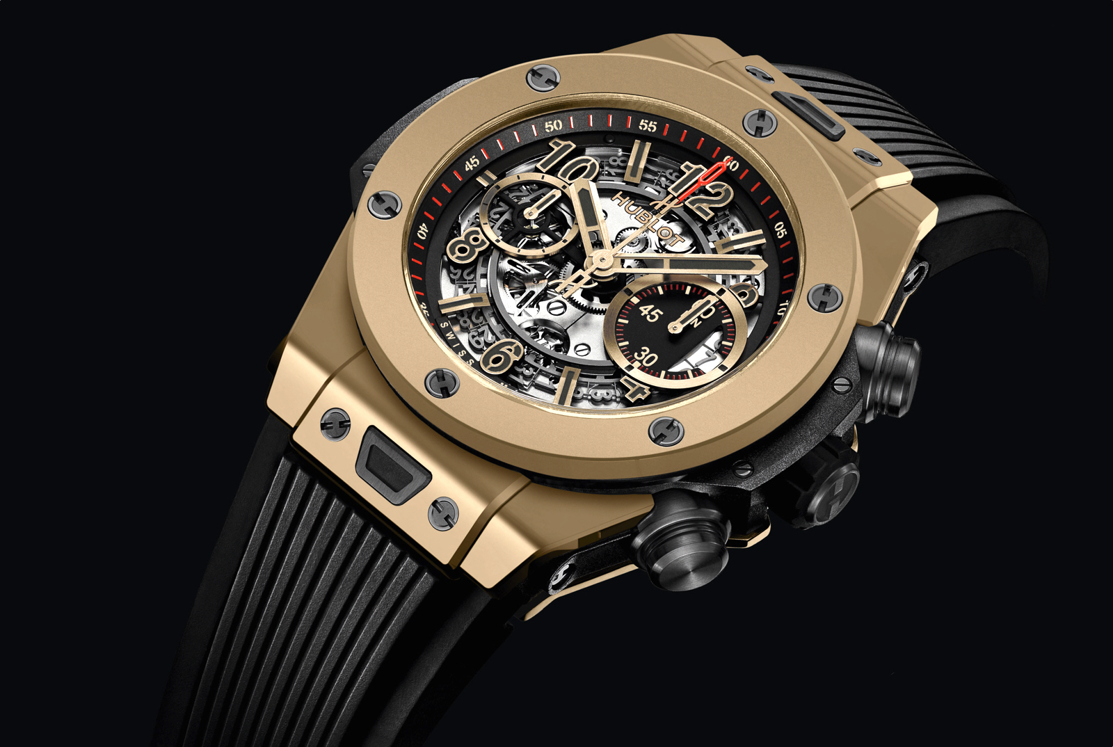Hublot Big Bang Unico Full Magic Gold (2015)