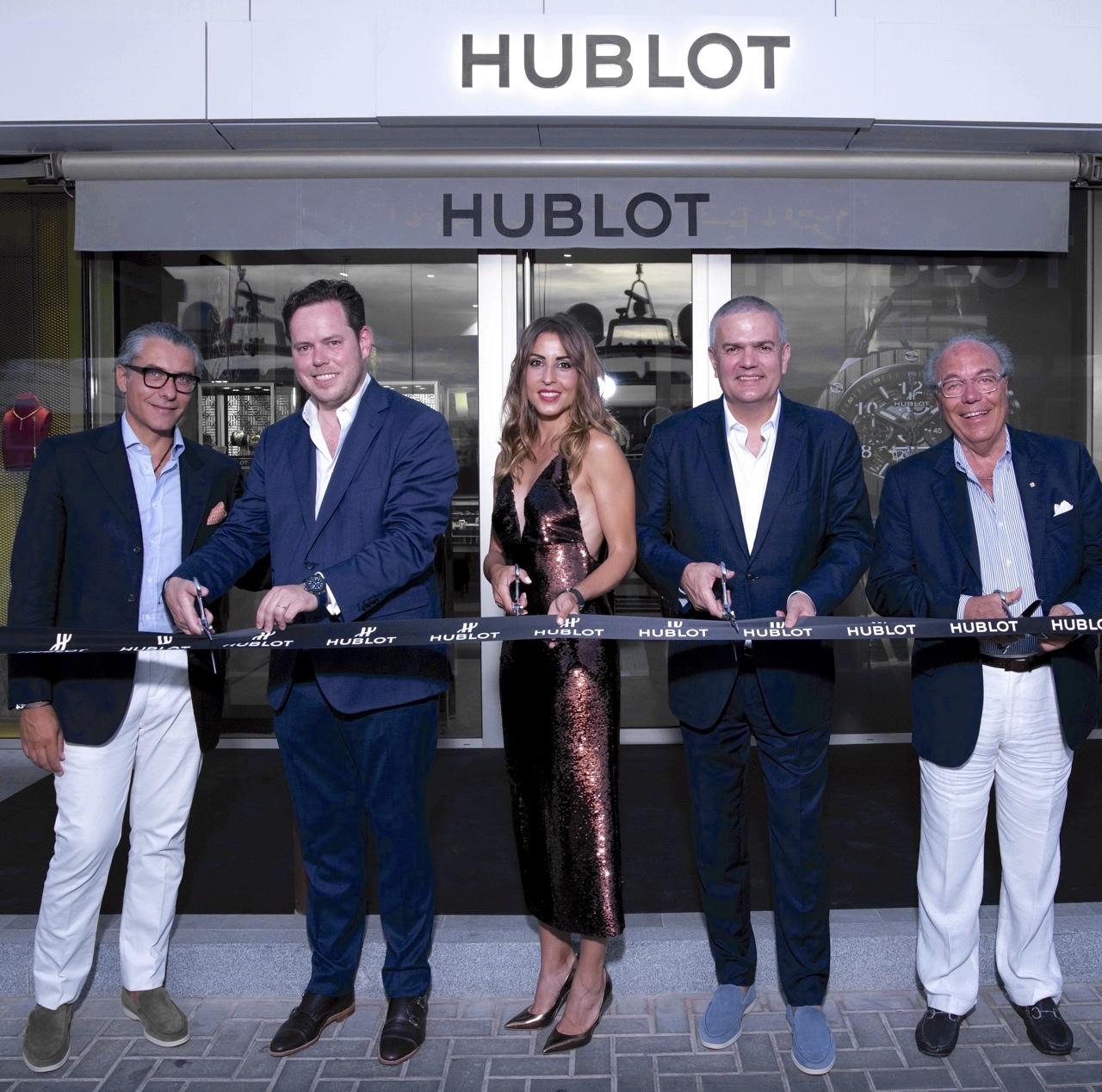 Hublot Classic Fusion Chronograph Ibiza - inauguracion boutique