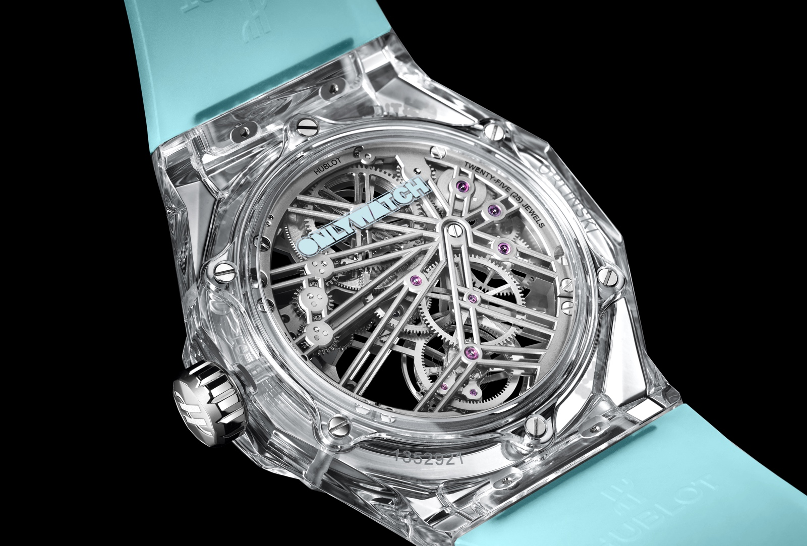 Hublot Classic Fusion Tourbillon Sapphire Orlinski Only Watch 2019 - back