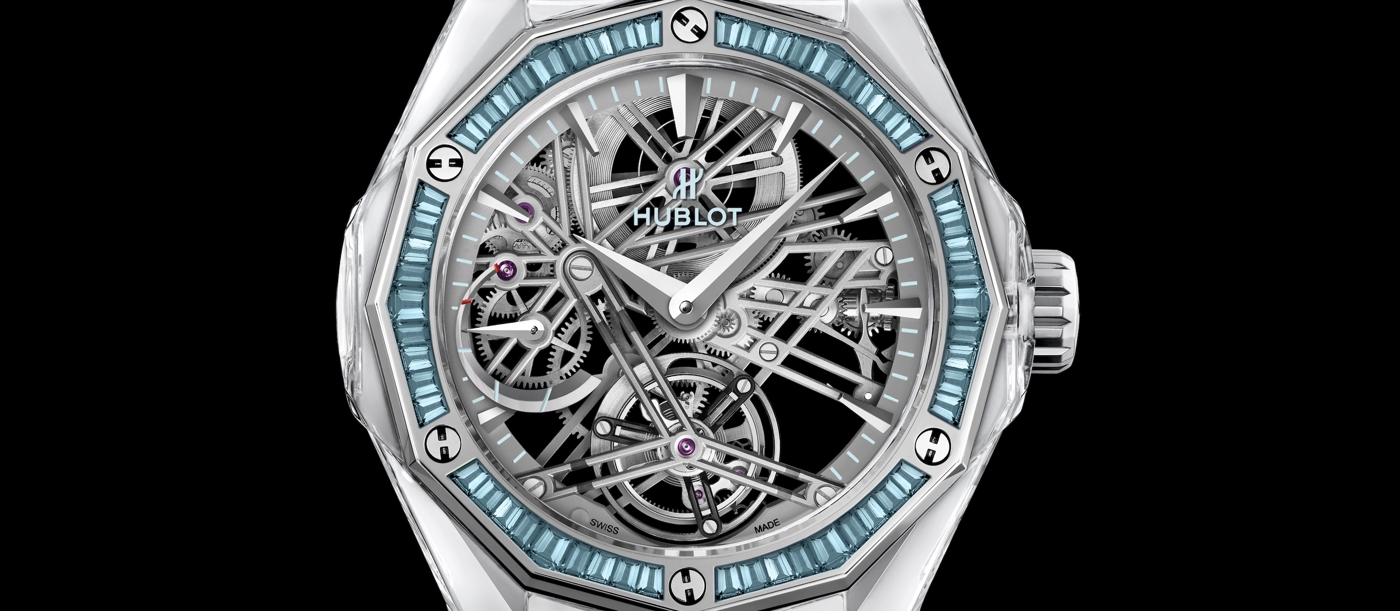 Hublot Classic Fusion Tourbillon Sapphire Orlinski Only Watch 2019 - cover