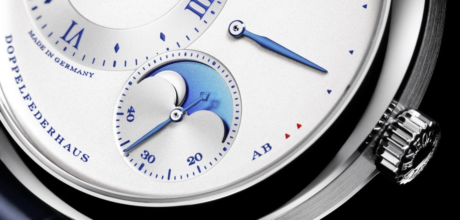 Lange 1 Moon Phase «25th Anniversary». Sexto reloj del aniversario.