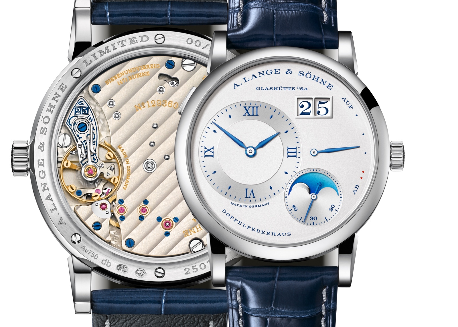 Lange 1 Moon Phase 25th Anniversary Views