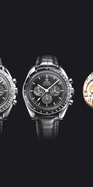 Omega Speedmaster Moonwatch 321 Platinum.