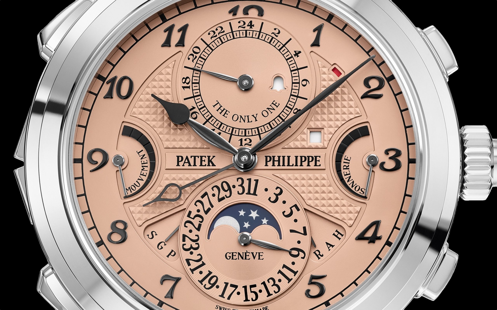 Patek Philippe Grandmaster Chime 6300A Only Watch 2019 - esfera