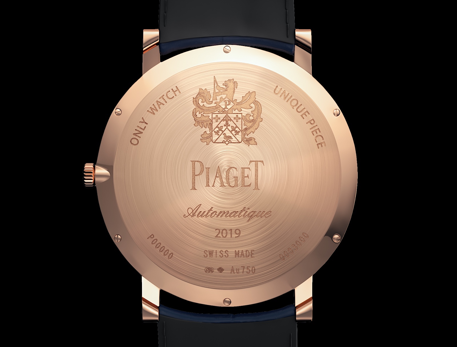 Piaget Altiplano Ultimate Automatic Only Watch 2019 - back