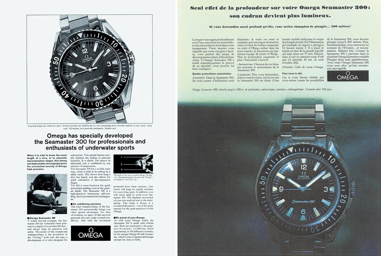 Seamaster 300 - Campañas ST