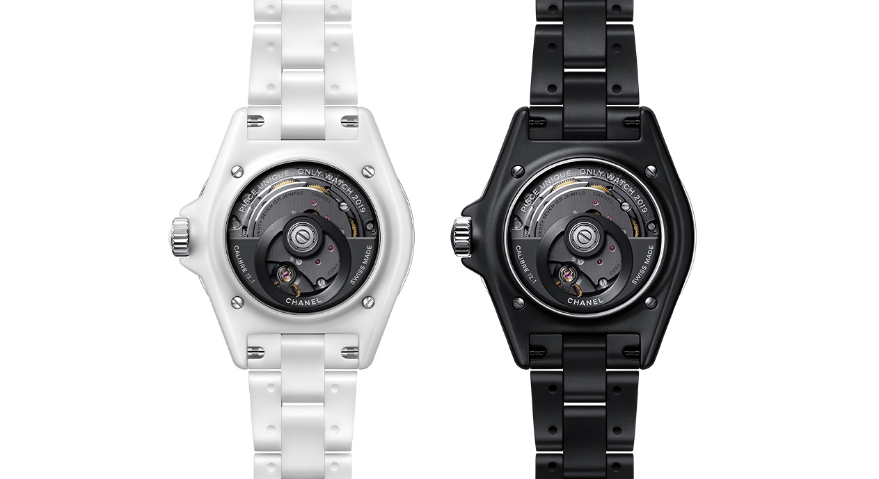 Chanel J12 Inseparable for Only Watch 2019 - back