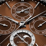 Jaeger-LeCoultre Master Ultra Thin Perpetual Enamel Chestnut