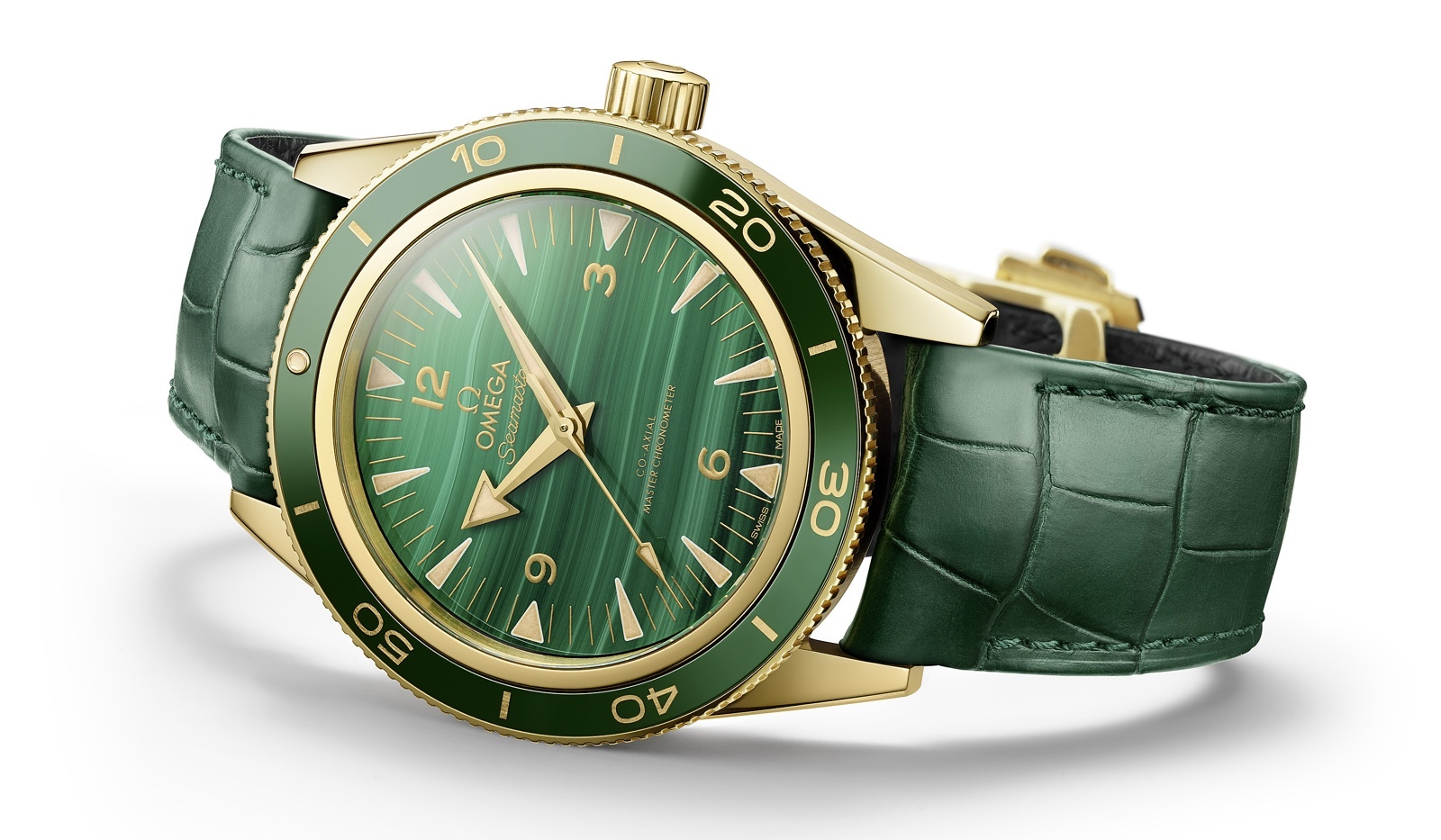 Omega Seamaster 300 Malachite Mood