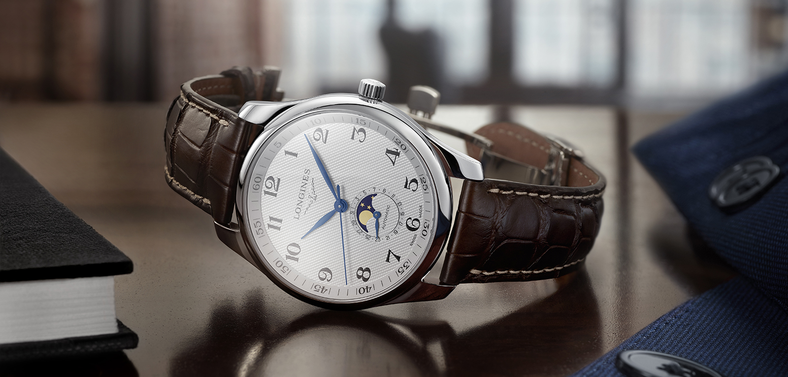 The Longines Master Collection Moon Phase