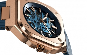 Bell & Ross BR05 Skeleton Gold Blue para Only Watch 2019