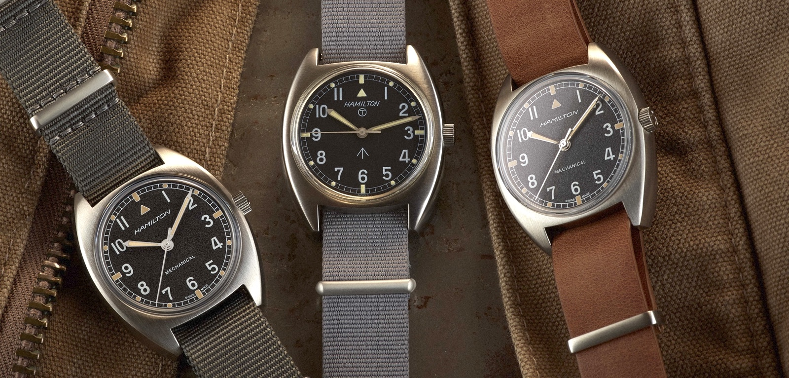 Hamilton Khaki Pilot Pioneer Mechanical Cover