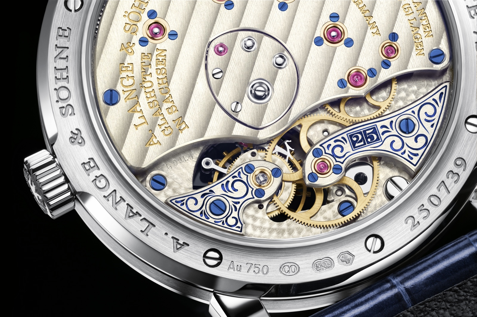 Lange 1 Tourbillon 25th Anniversary Caseback