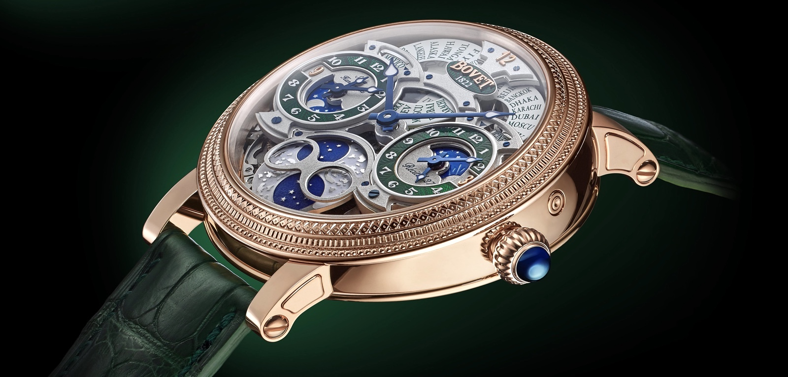 Bovet 1822 Récital 27 México Limited Edition Cover