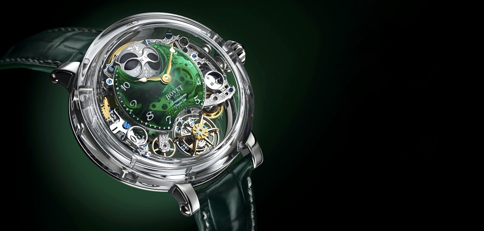 Bovet 1822 Récital 26 Brainstorm Chapter One Green Cover