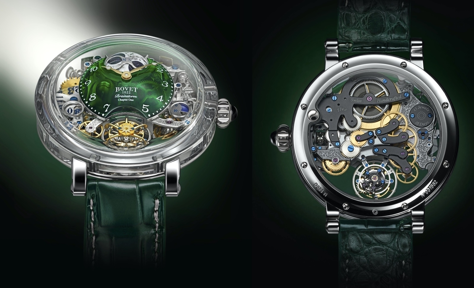 Bovet 1822 Récital 26 Brainstorm Chapter One Green Views