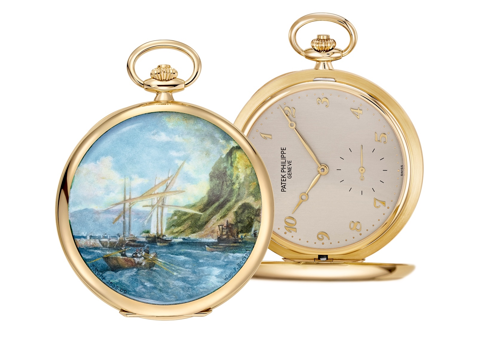 "Patek Philippe Singapore 2019 Rare Handcrafts - 984/5J-001 ""Surroundings of Meillerie"""