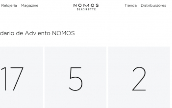 Calendario Adviento NOMOS 2019 Cover