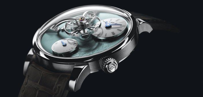 MB&F Legacy Machine 101 Palladium.