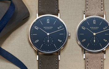 Nomos Tangente Midnight Blue Cover
