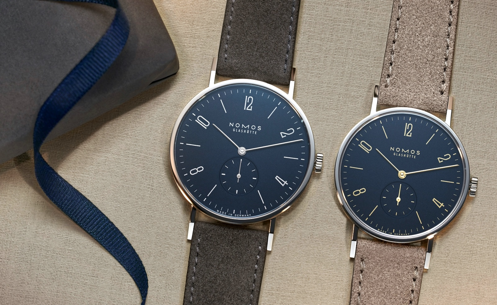 Nomos Tangente Midnight Blue Mood 1