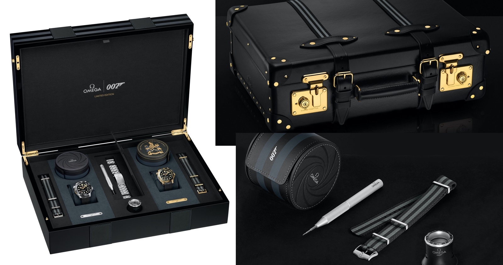 Omega The James Bond Set Limited Edition Suitcase