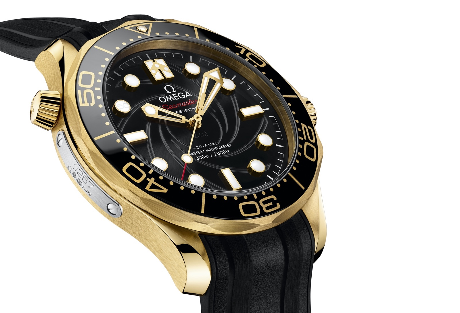 Omega The James Bond Set Limited Edition Yellow Gold