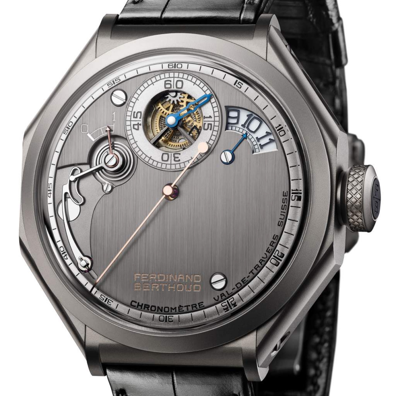GPHG 2019 Chronométrie Ferdinand Berthoud Carburised steel regulator