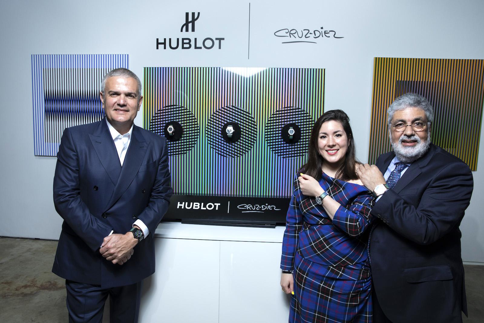 Hublot Classic Fusion Cruz-Diez - artista