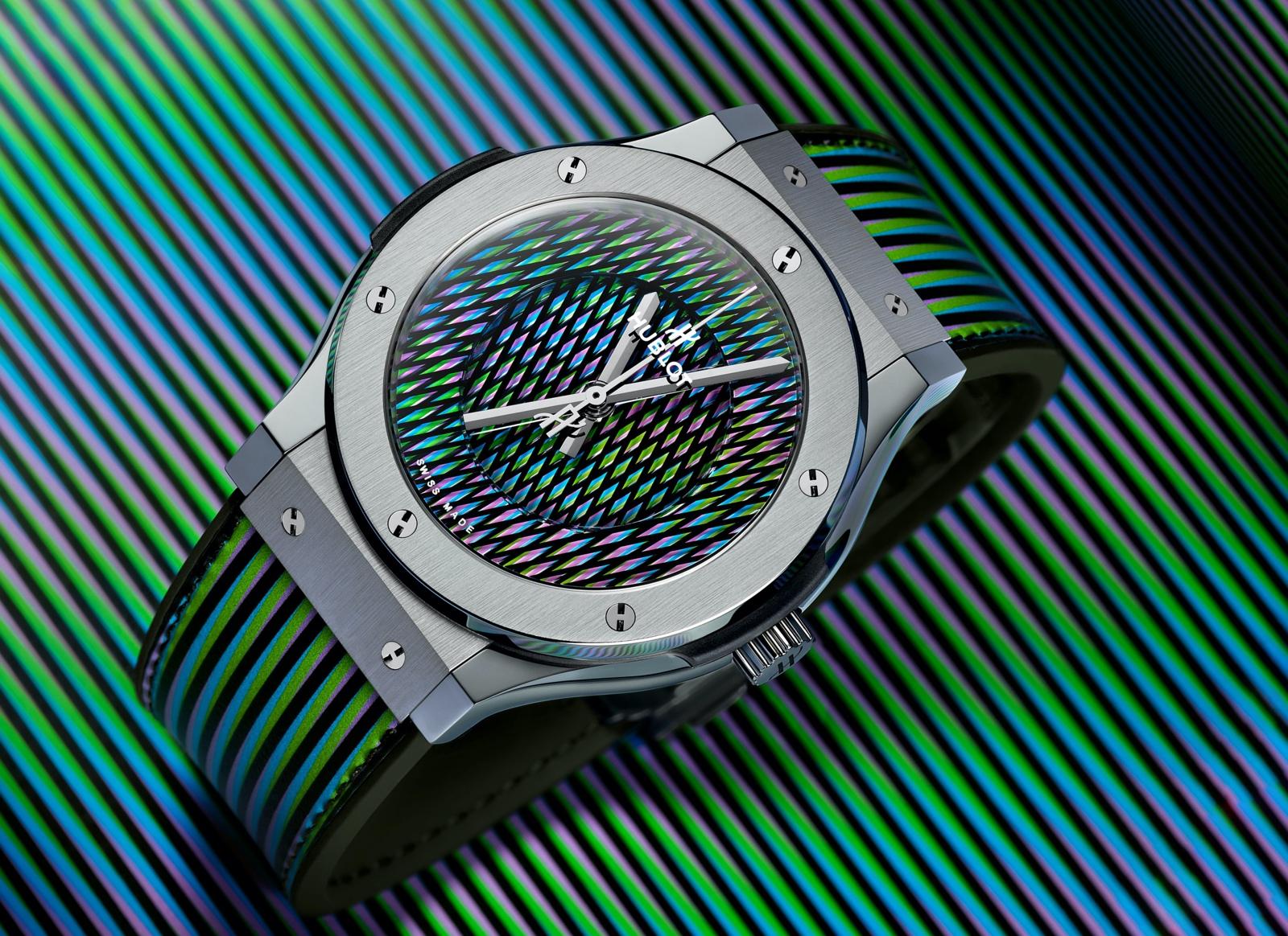Hublot Classic Fusion Cruz-Diez - titanium