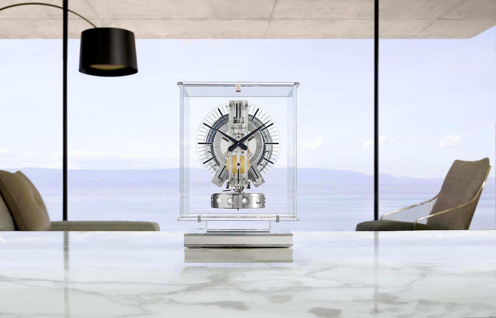 Jaeger-LeCoultre Atmos Transparente lifestyle