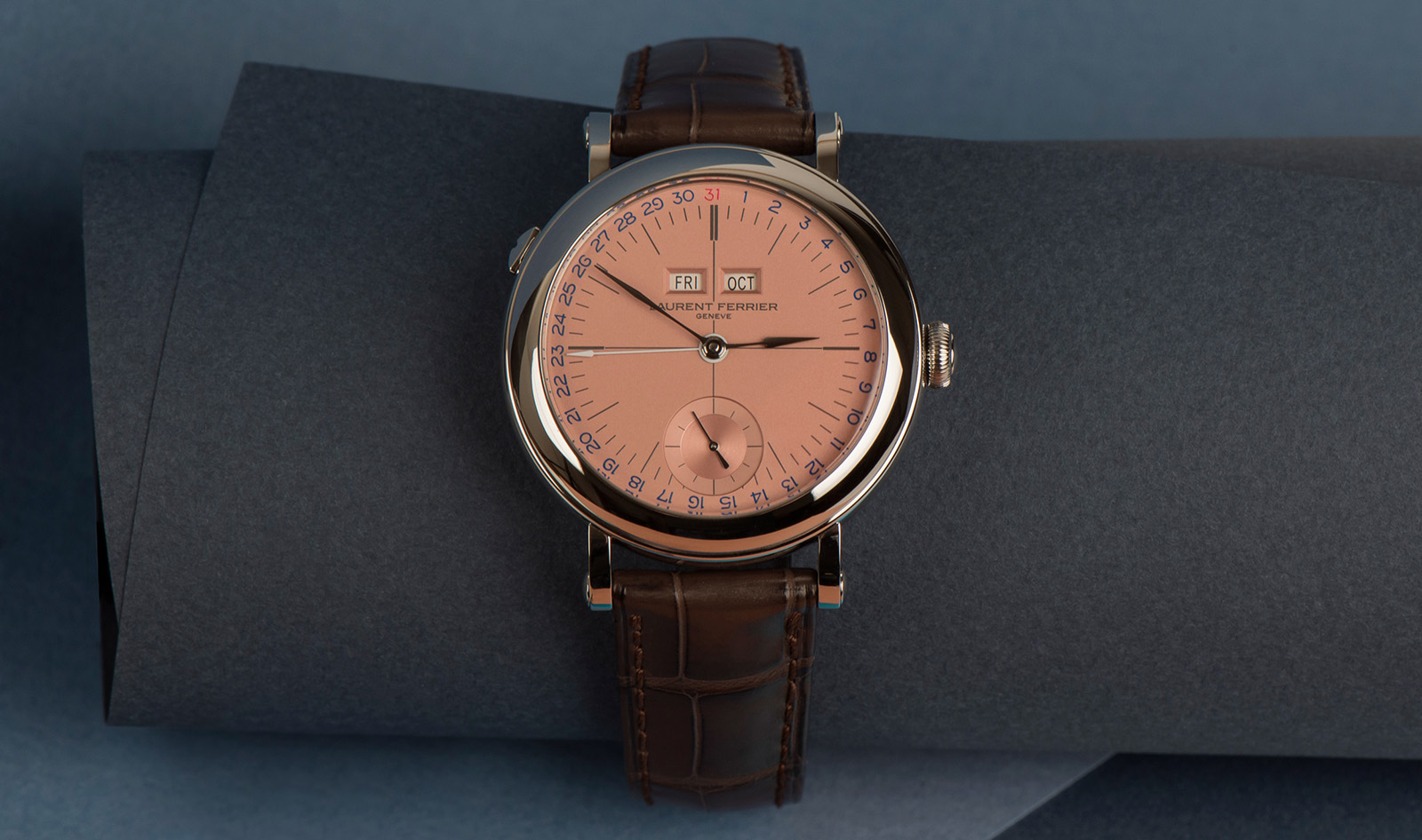 Laurent Ferrier Galet Annual Calendar School Piece Autumn Inspired Geneva Edition