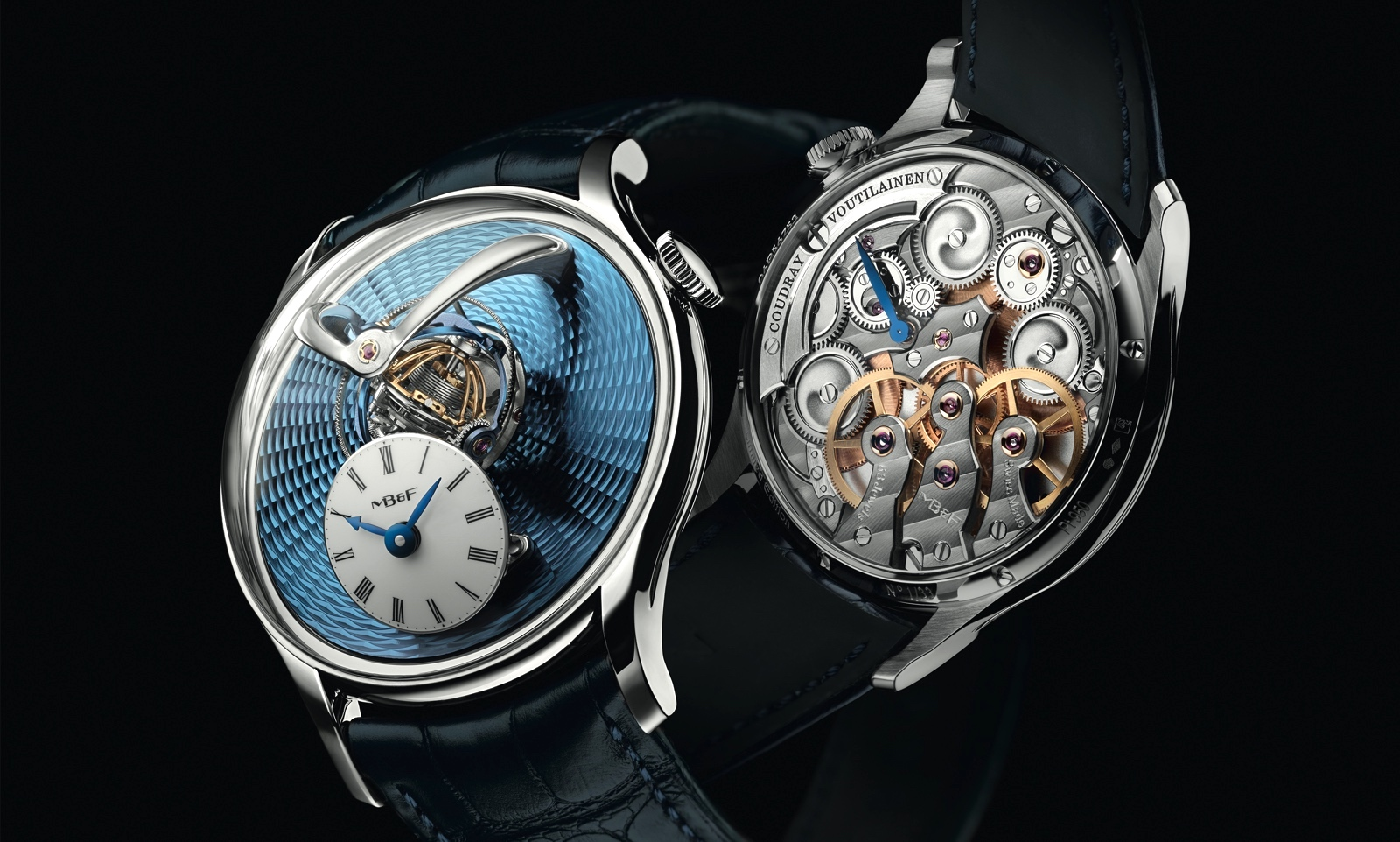 MB&F Legacy Machine Thunderdome Platinum