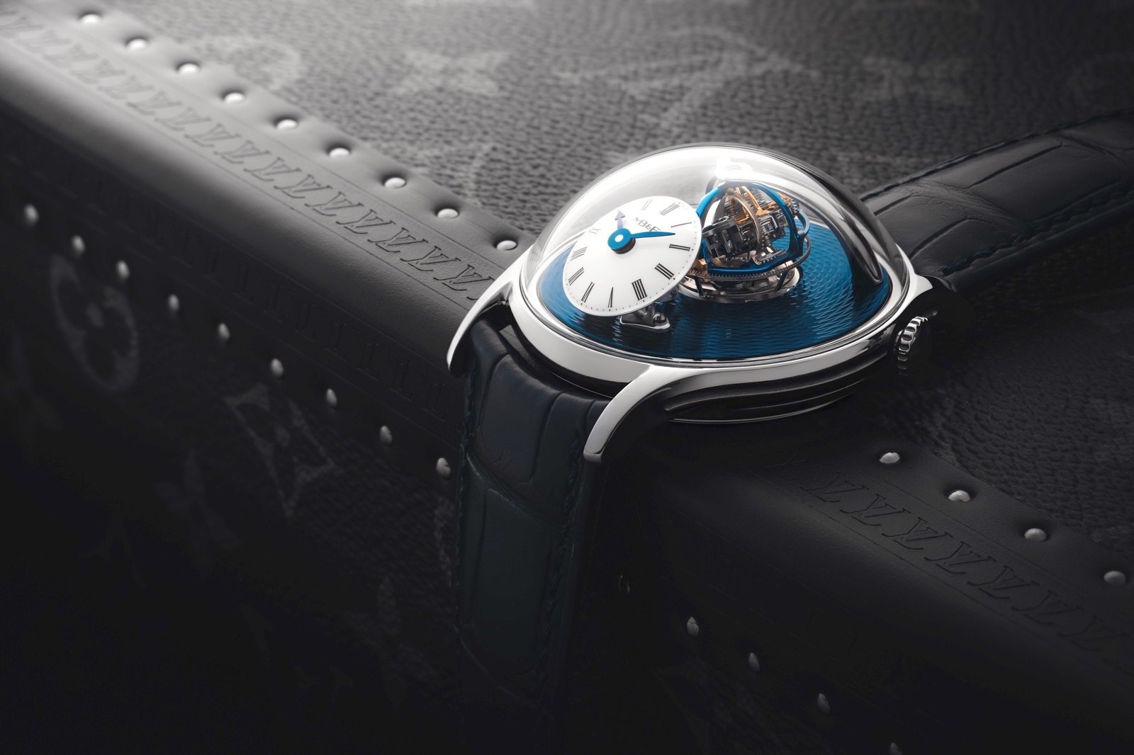 MB&F Legacy Machine Thunderdome Tantalum Mood