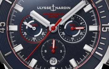 Ulysse Nardin Diver Chronograph Hammerhead Shark Limited Edition - cover