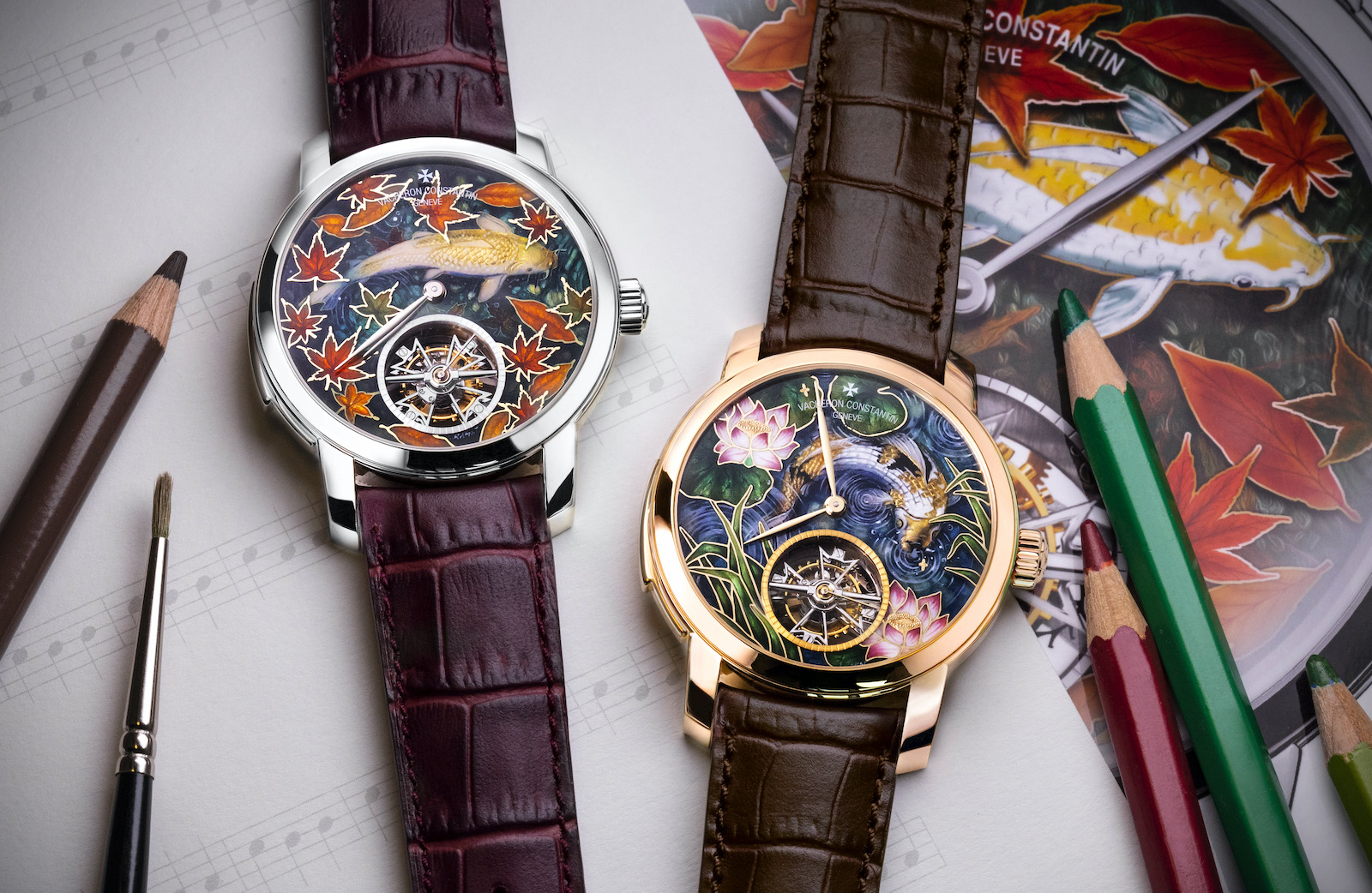 "Vacheron Constantin Les Cabinotiers Minute Repeater Tourbillon ""Four seasons"" duo"