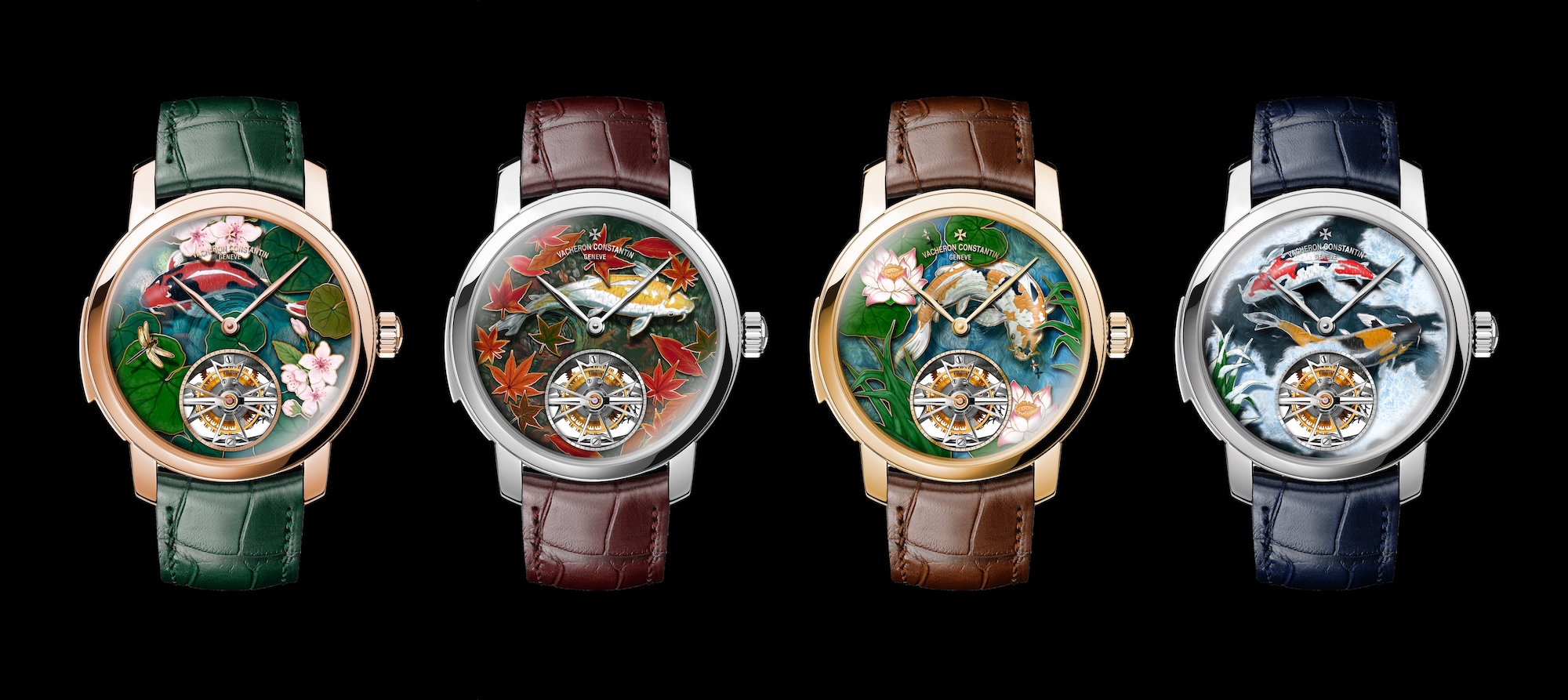 "Vacheron Constantin Les Cabinotiers Minute Repeater Tourbillon ""Four seasons"" four"