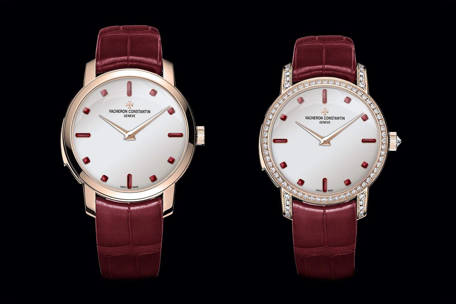 Vacheron Constantin Les Cabinotiers Minute Repeater Ultra-Thin Gemstones - duo front
