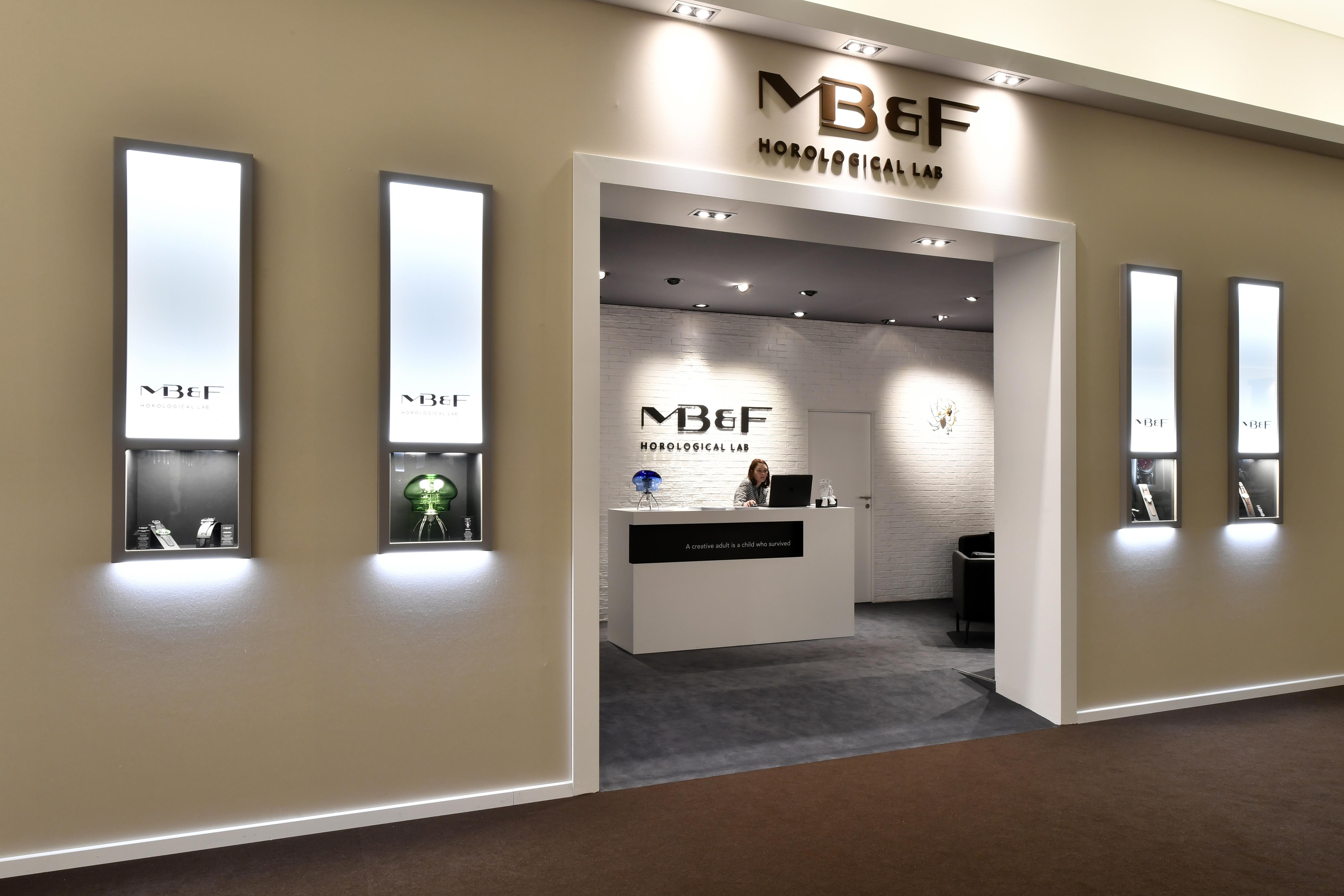 Stand MB&F. - SIHH 2019