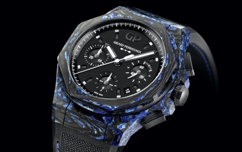 Girard-Perregaux Laureato Absolute Rock, llega el carbon glass.