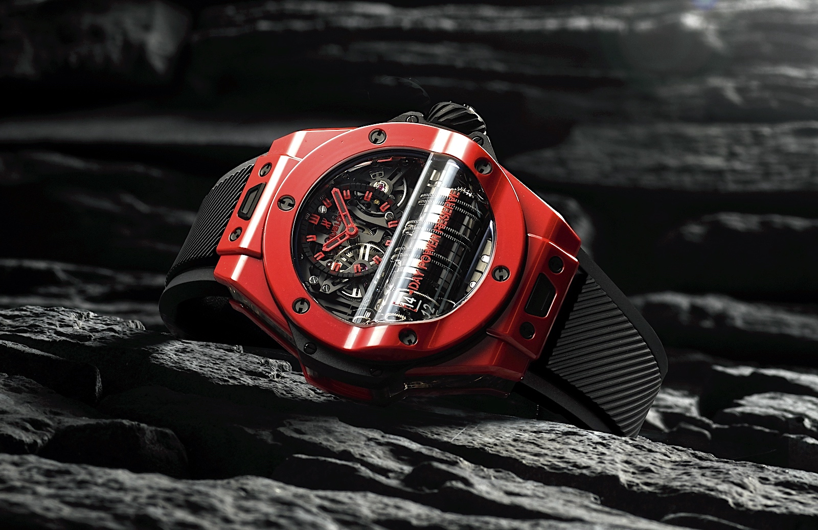 Hublot Big Bang MP-11 Red Magic - black 2