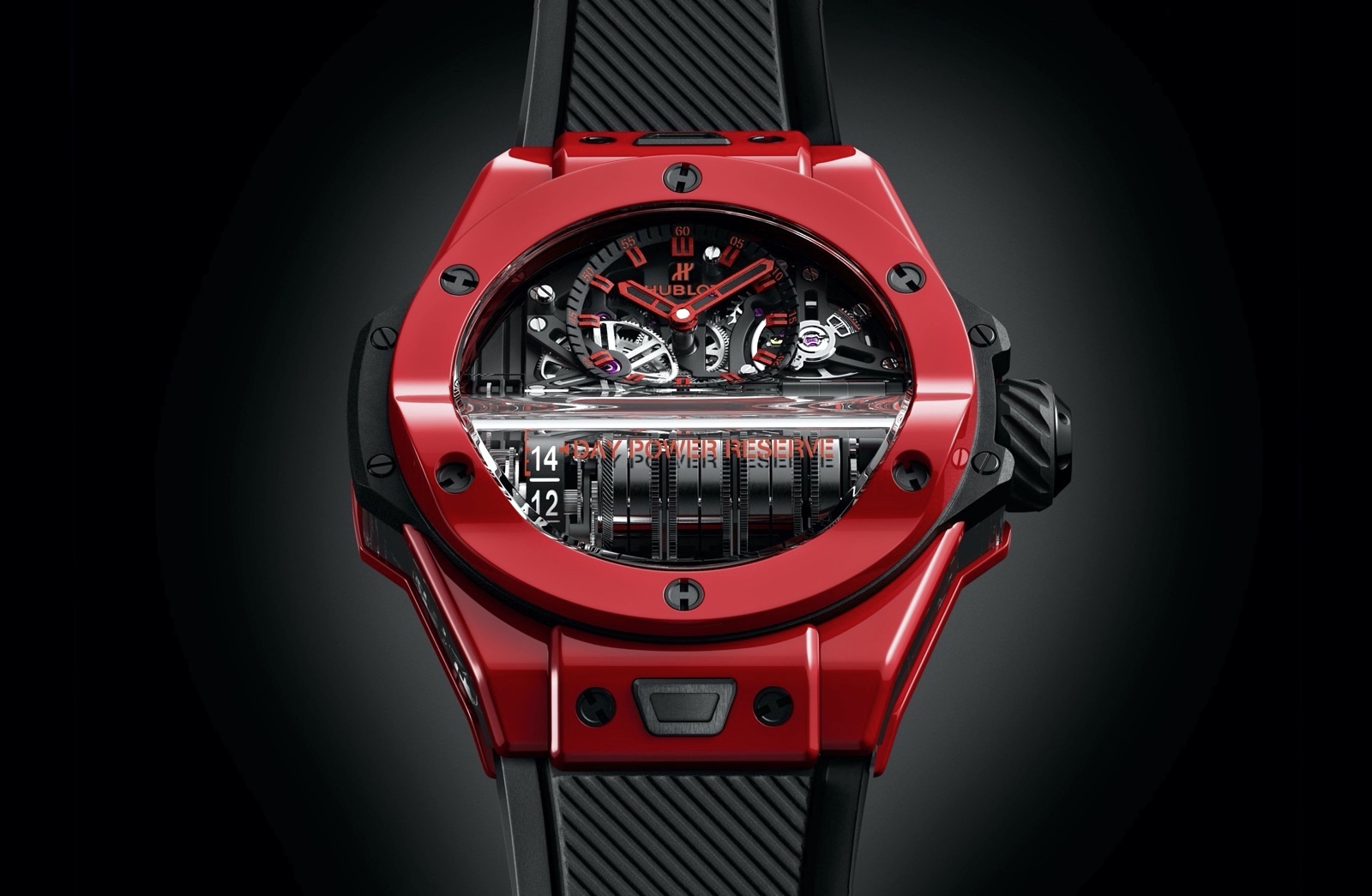 Hublot Big Bang MP-11 Red Magic - front
