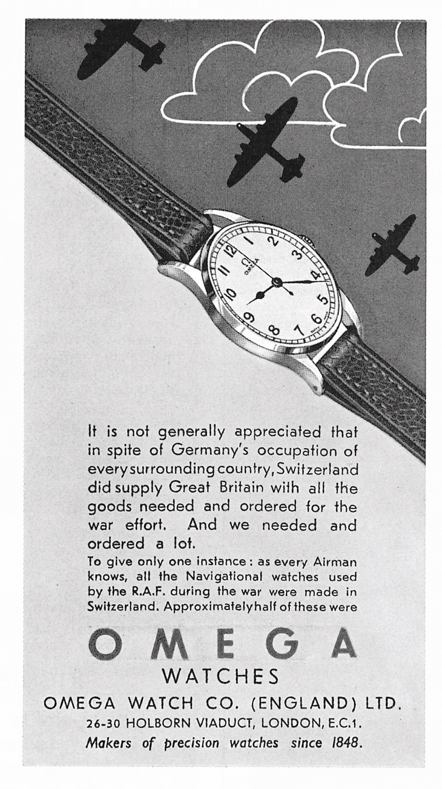 Omega-Publicidad 1945