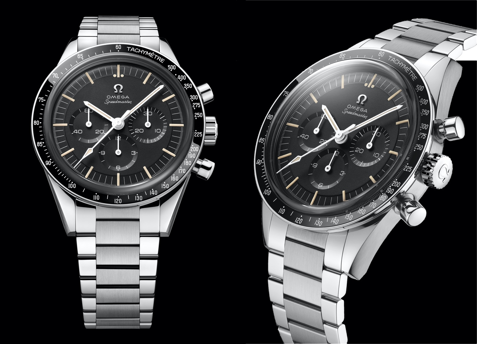Omega Speedmaster Moonwatch 321 Stainless Steel Views