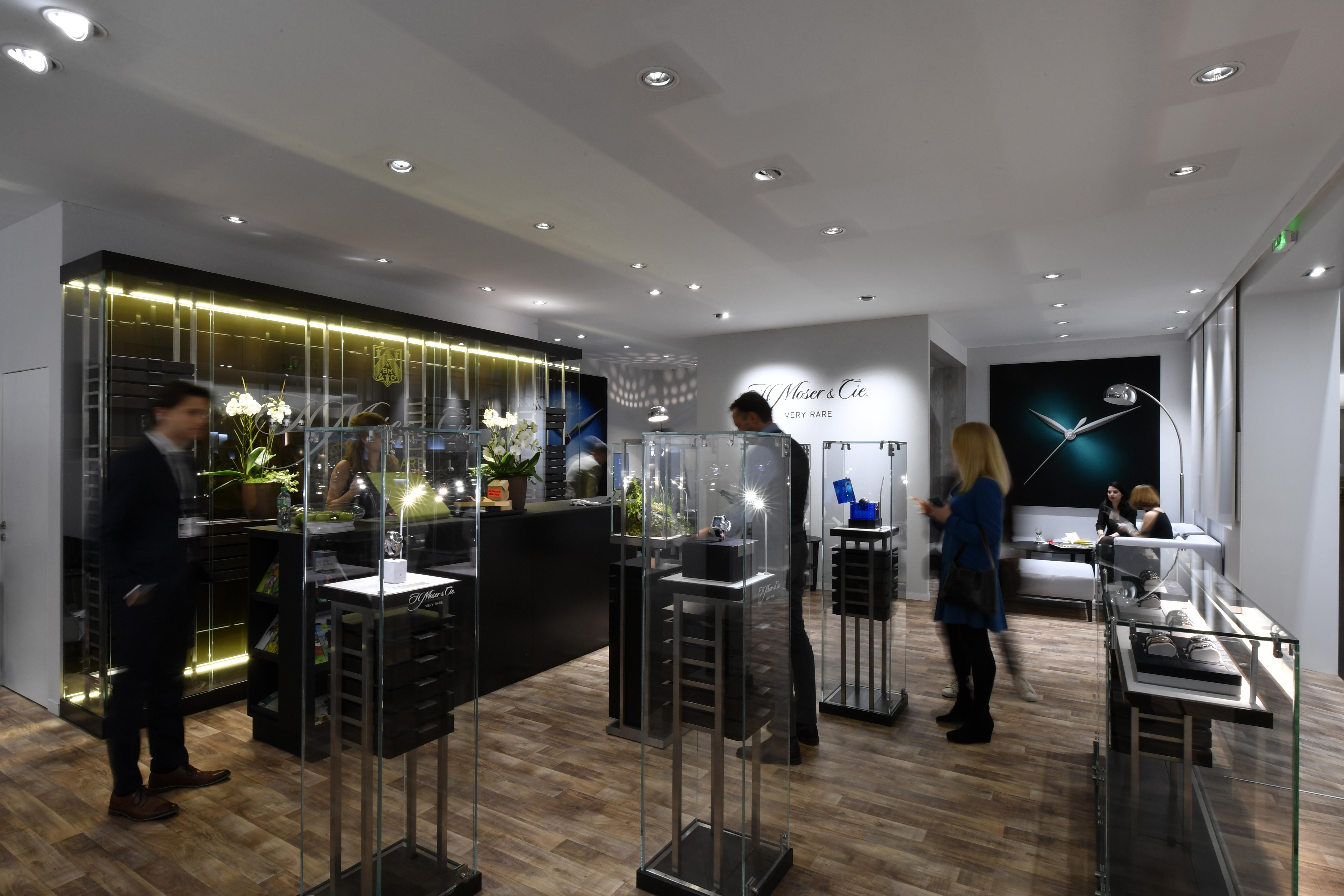 Stand H. Moser & Cie. - SIHH 2019